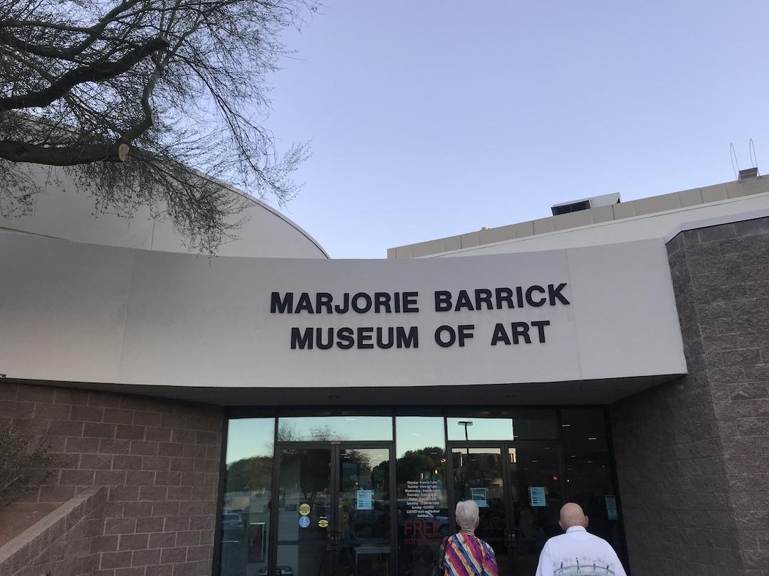The Marjorie Barrick Museum of Art opened in 1967.