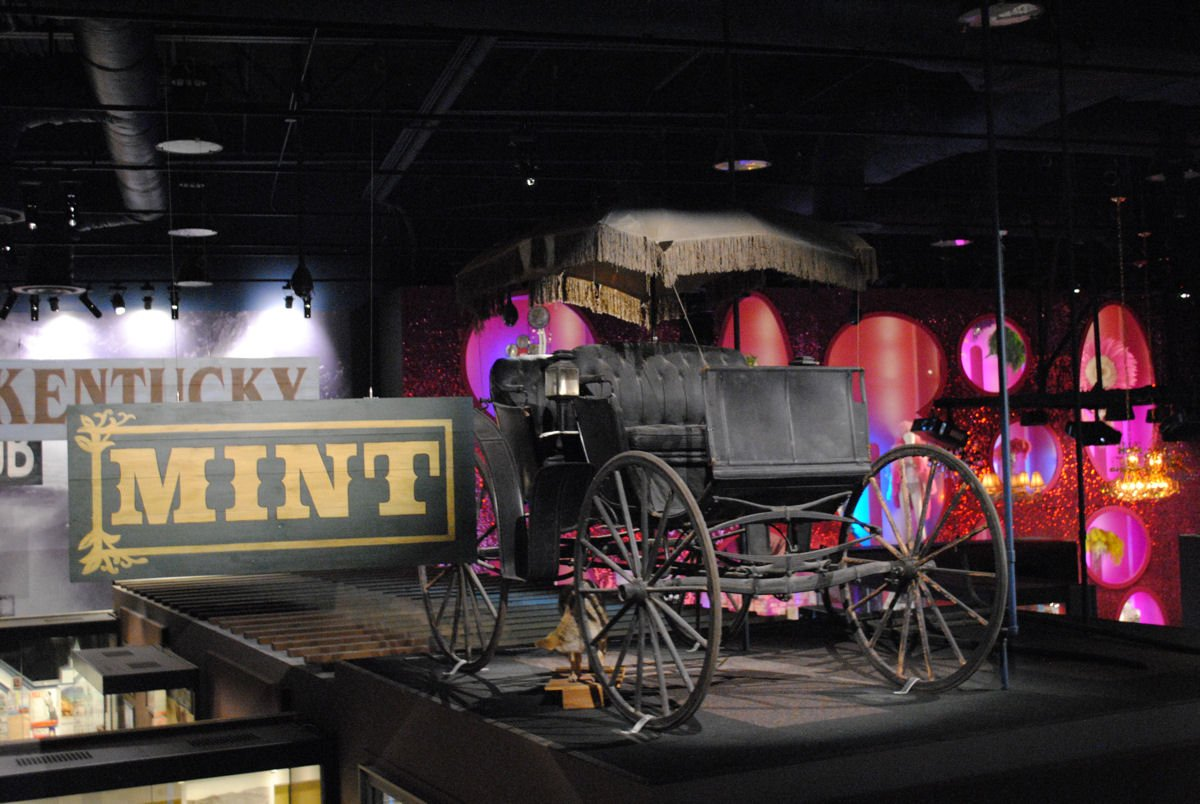 An old wagon and other items dating to the 1800s illustrate what life was like for the pioneers and settlers back then.