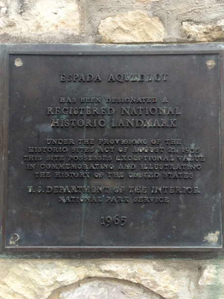National Landmark Plaque