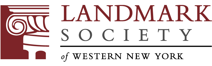 Landmark Society of Western New York logo.  Image source: Google.