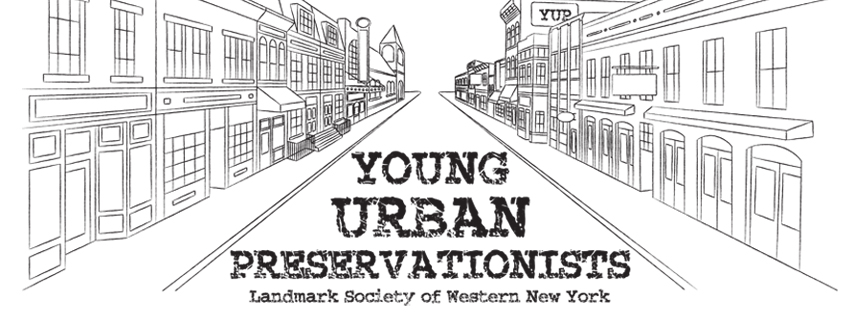 Young Urban Preservationists logo.