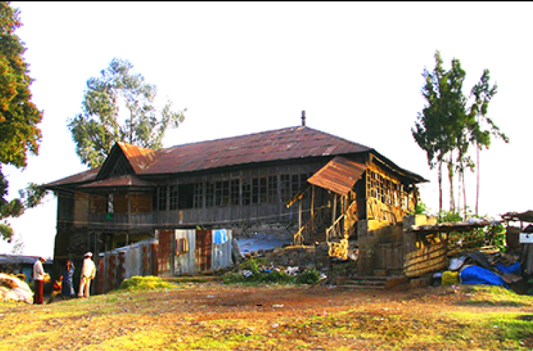 Afenigus Nasibu Meskele Residence, built between late 1800 to 1908.