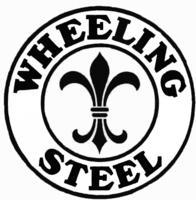Wheeling Steel Corporation logo.