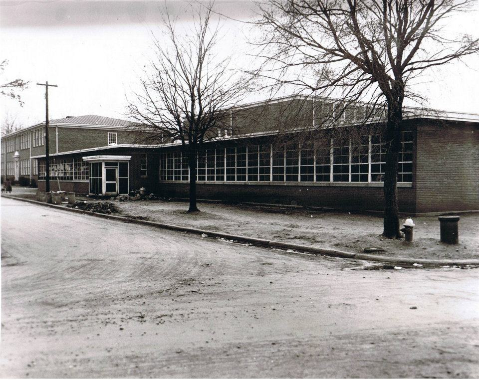 W.H. Councill High School at the time of its closing in 1966.