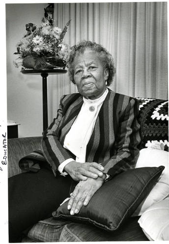 Ms. Marguerite Dobbins Lacey was a teacher at Council High School.