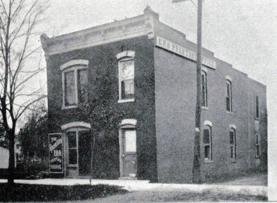 Rochester Era Building, south and east elevations, 1907