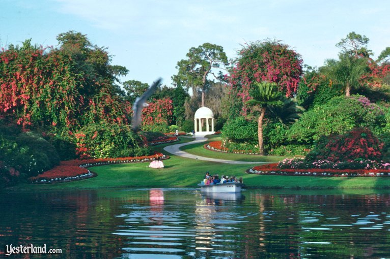 The beautiful and famous Garden, still maintained and located at what is now LegoLand.
