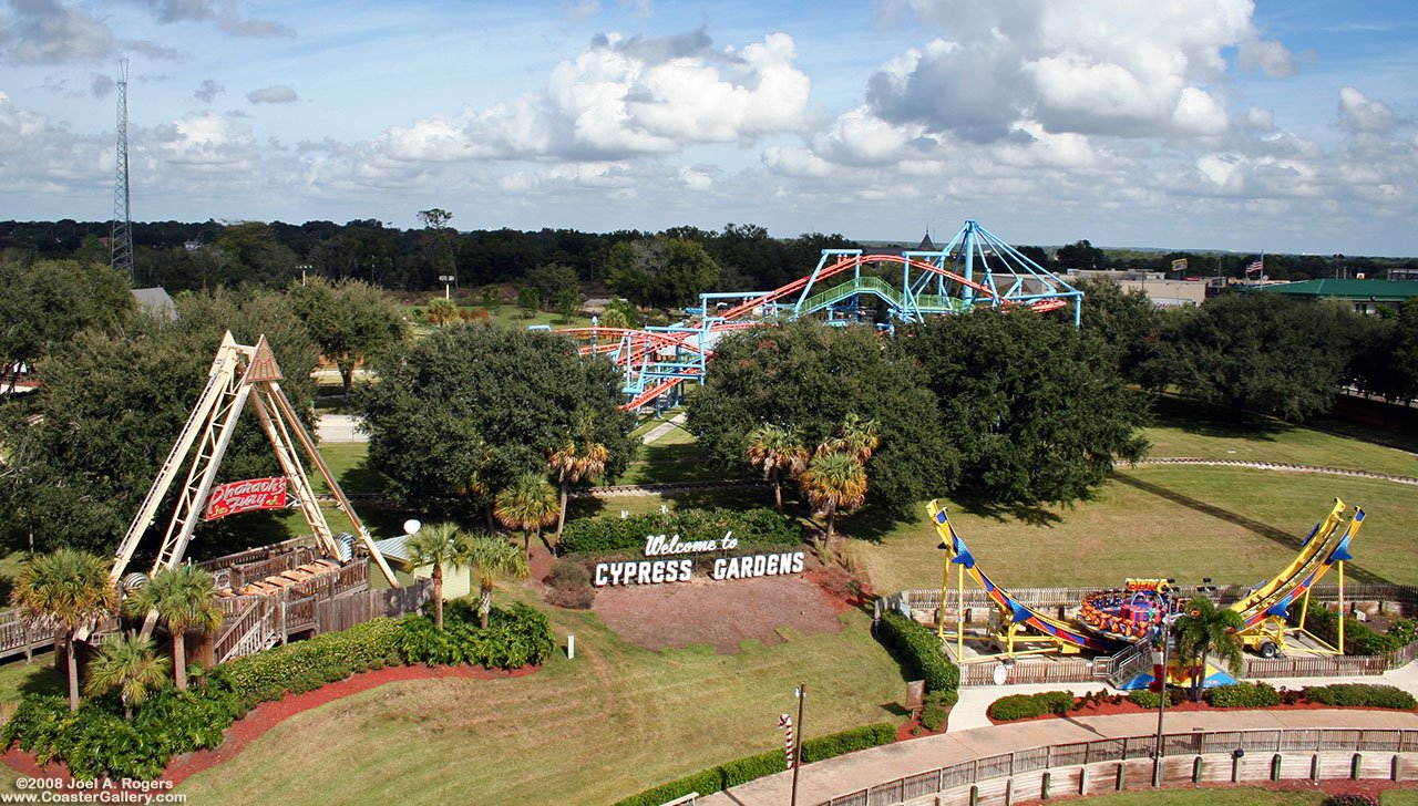The Park before it was destroyed by Hurricane Charlie and Katrina, and taken over by LegoLand.