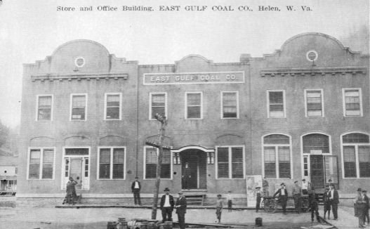 The original company store, built in 1919.