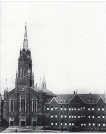 Immaculate Conception Church, Photo From The Bronx, In Bits and Pieces, by Bill Twomey