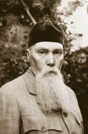 Portrait of Nicholas Roerich.
