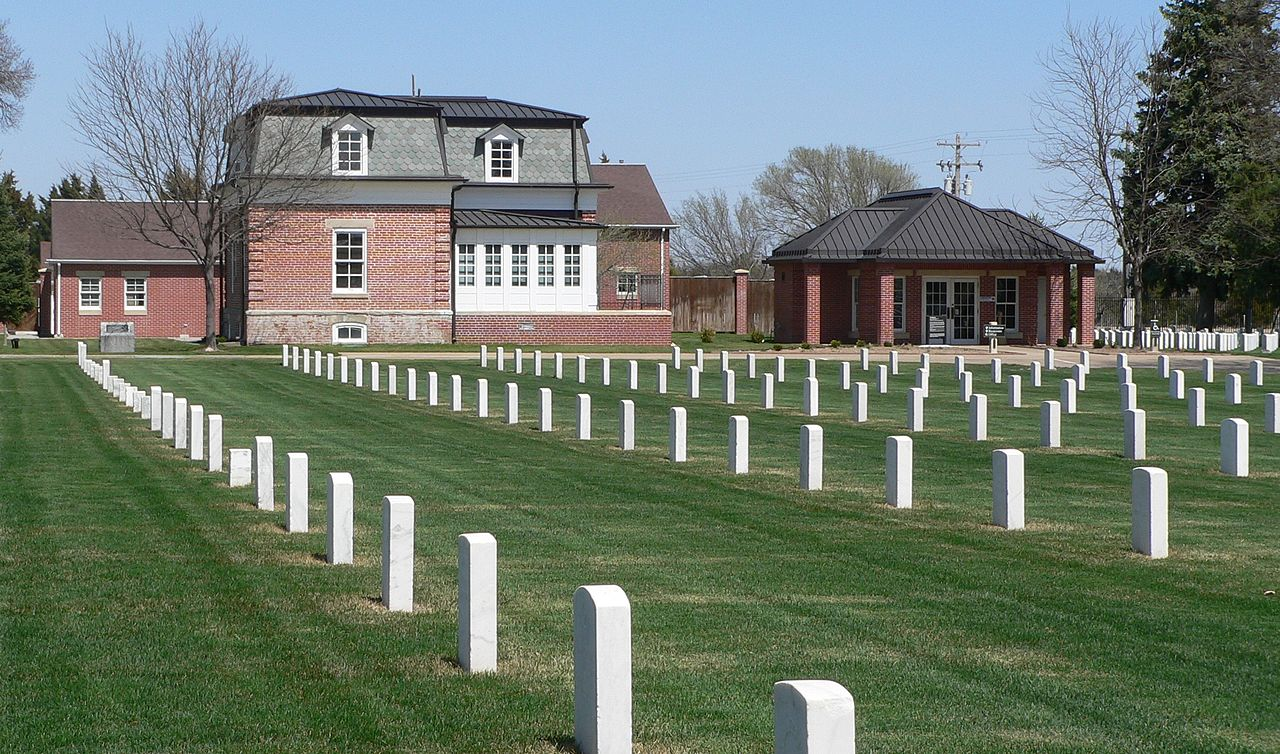 The cemetery is the final resting place for American troops, Indians, and veterans.