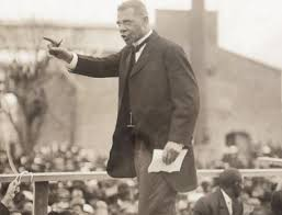 Booker T. Washington at the Atlanta Compromise Speech, 1895