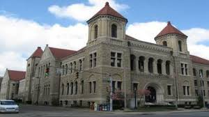 Kanawha County Courthouse was constructed in 1892.