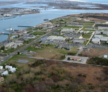 Aerial View of  Training Center Cape May,  Courtesy of Military Bases.com