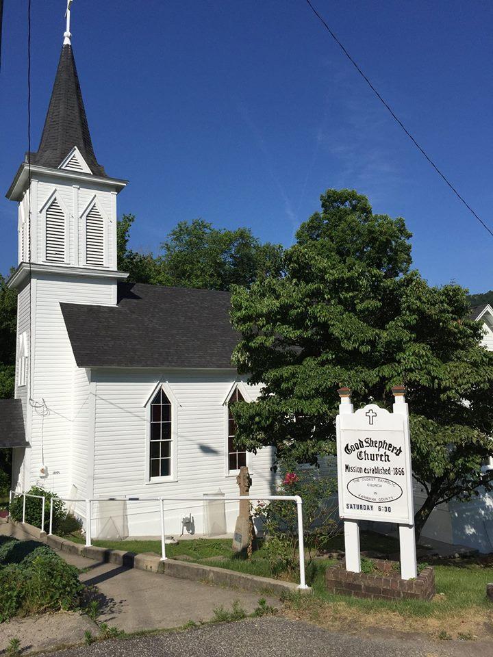Good Shepherd Church in East Bank, WV.