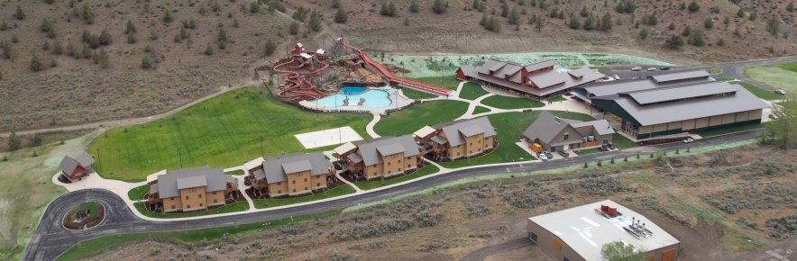 Aerial View of Washington Family Ranch Creekside, Courtesy of Younglife