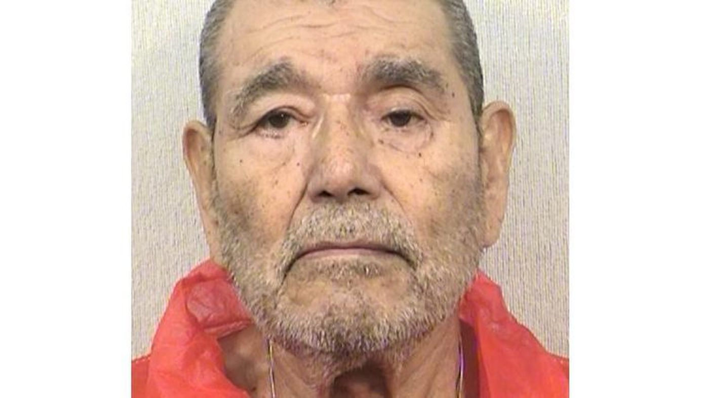 Serial killer Juan Corona in 2016, when he was denied parole. Corona's grisly murders, carried out within a few miles of his brother's tavern, are the reason for frequent rumors of ghosts at the Silver Dollar.