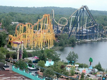 Ariel photo of the park during 2007 season.