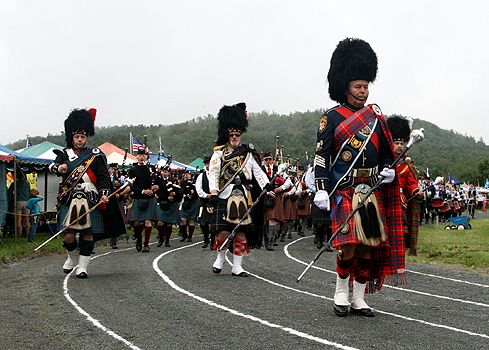 Massed Highland Bands