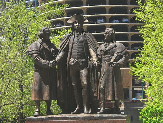 "Lorado Taft's ""Heald Square Monument"""