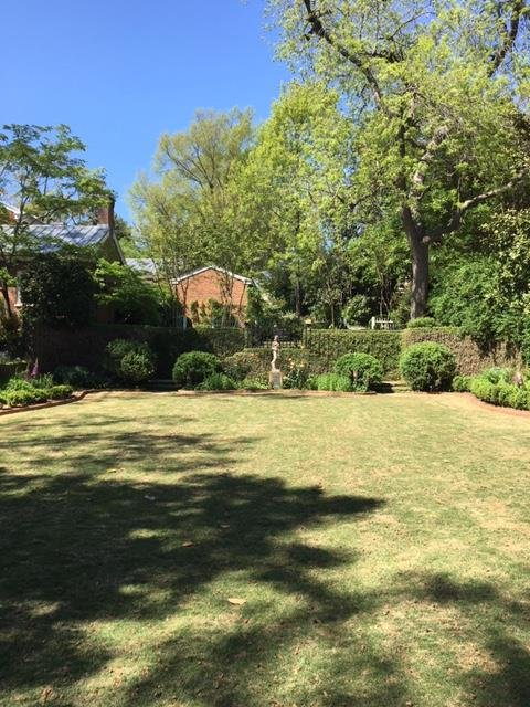 Another view of the lawn facing toward the house.
