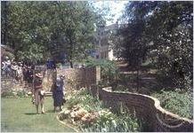 Founders Memorial Garden's Perennial Garden c.1944