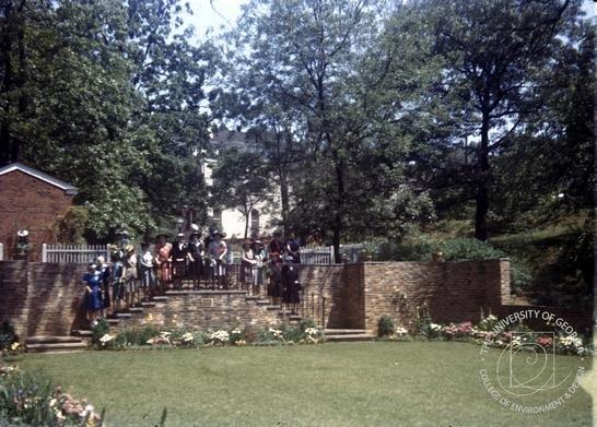 Founders Memorial Garden c.1944