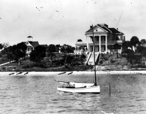 Useppa Inn (1769-Post WWII), Cayo Costa. Taken around 1910 (State Archives of Florida).