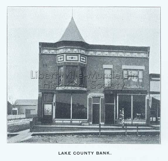 Lake County Bank, circa 1897