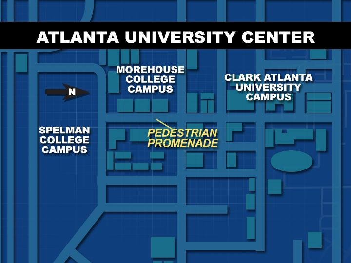 Geographical Location, AUC / Atlanta University Center Consortium