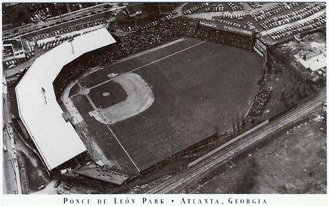 Ponce de Leon Ballpark After Fire