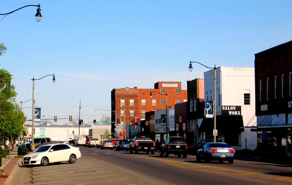 A view of Main Street.