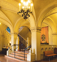 Berkeley City Club interior