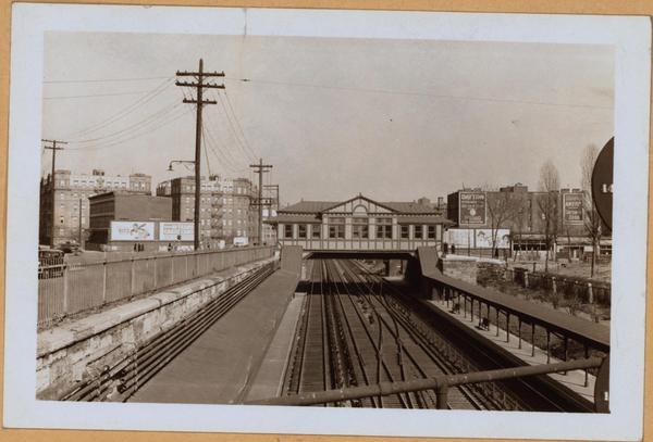 Melrose Station in 1938. (footnote 20)
