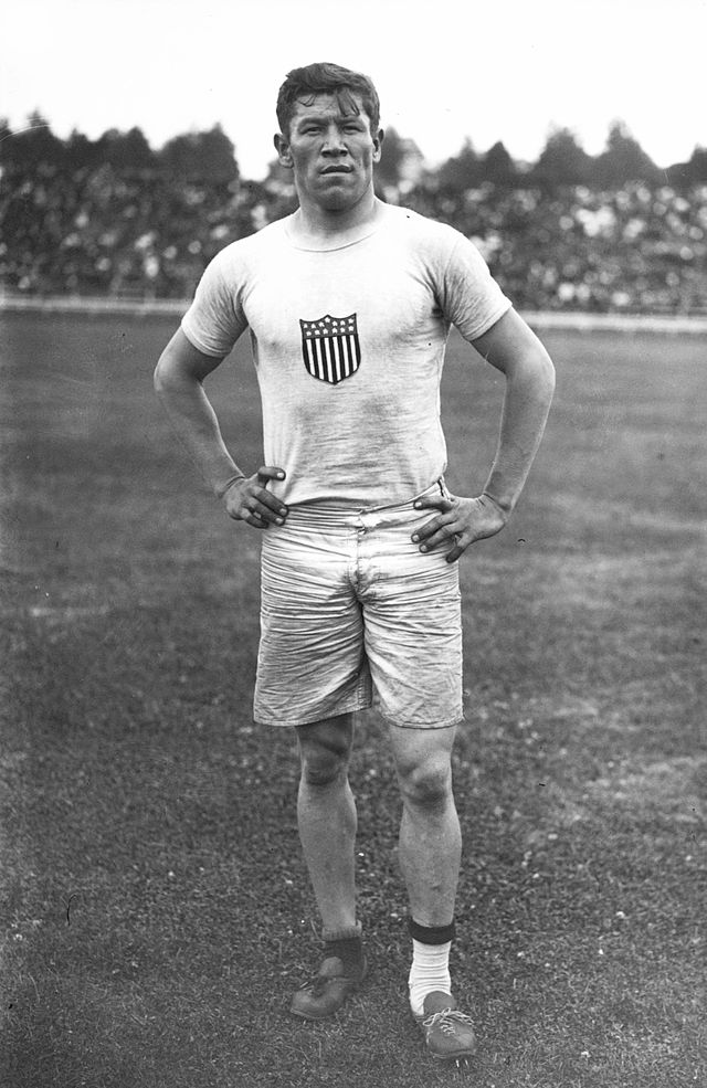 Jim Thorpe at the 1912 Summer Games