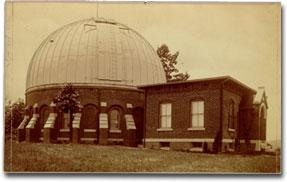 Leander McCormick Observatory in 1890