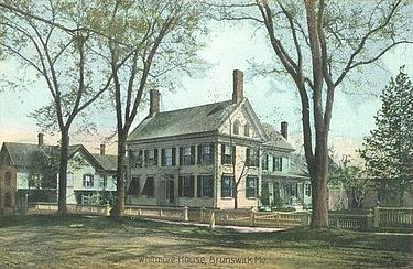 1905 postcard of the house