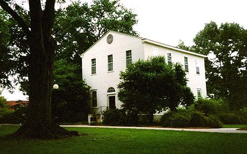Waddel Hall remains surrounded by greenery on the University of Georgia's North Campus.