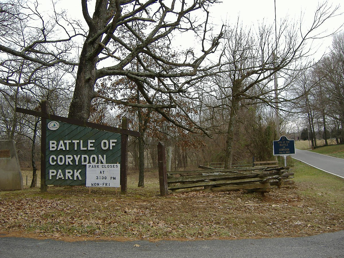 The Battle of Corydon was the only Civil War battle that took place in Indiana.