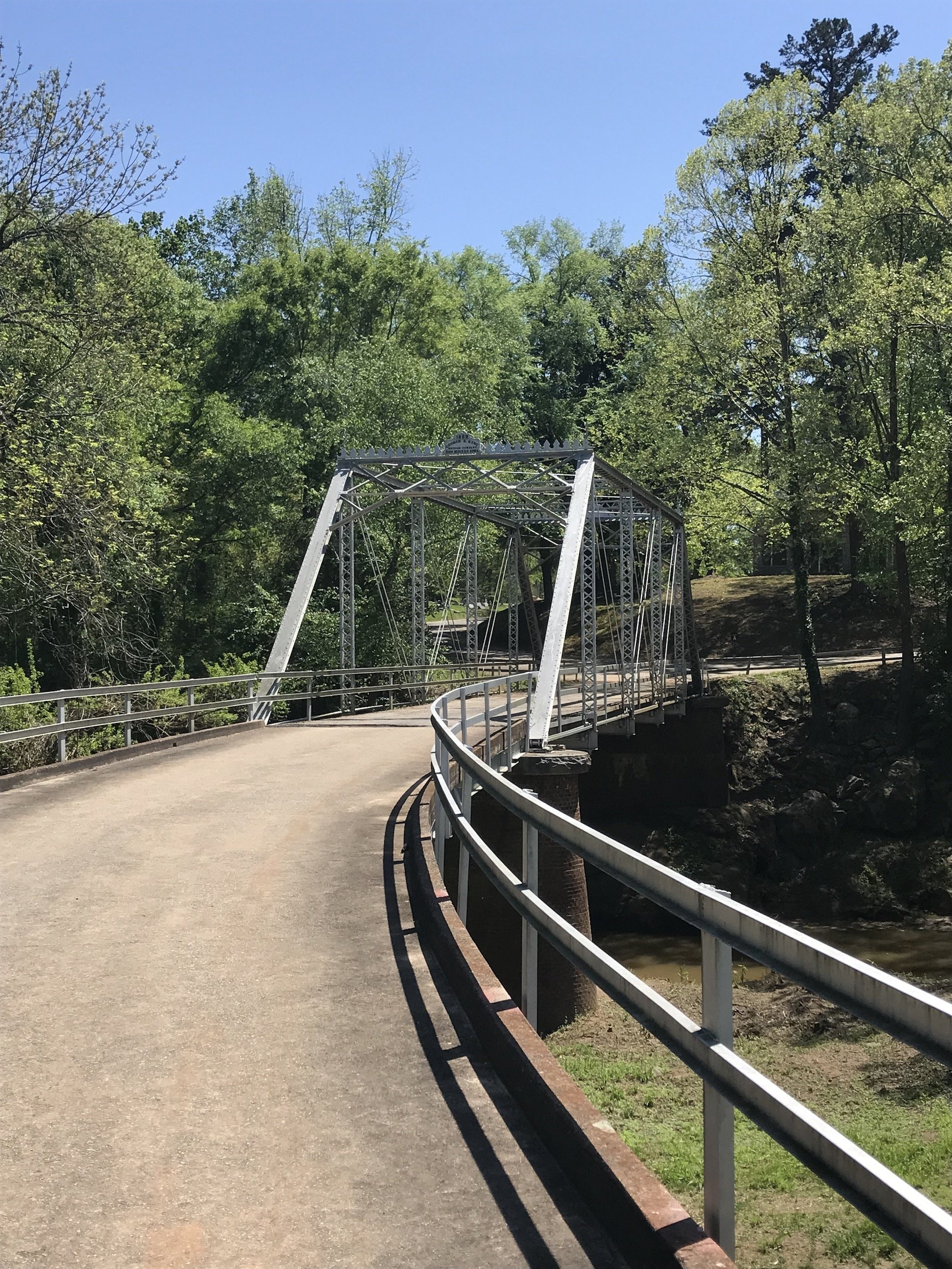 Iron Truss Bridge circa 1899