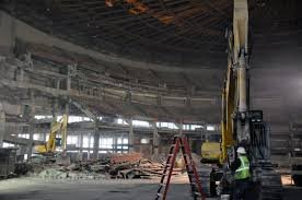 Demolition of Cobo Arena