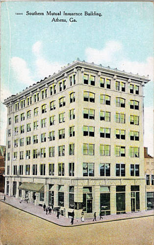 Postcard from 1911, Georgia Archives.