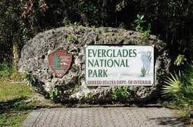 Everglades National Park sign