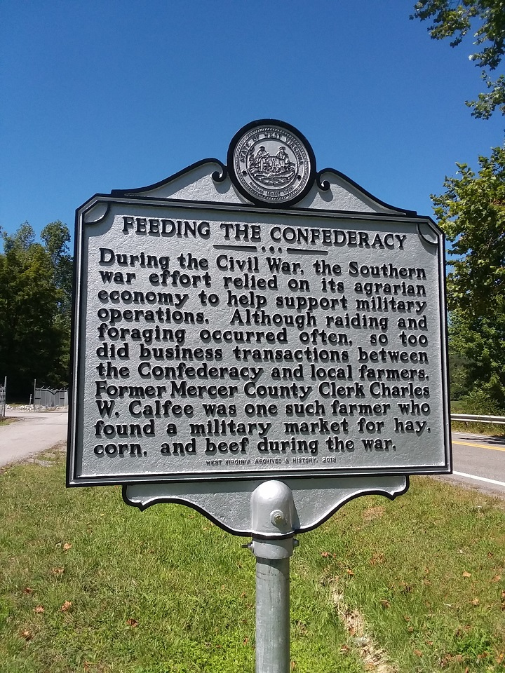 Feeding the Confederacy Historical Marker
