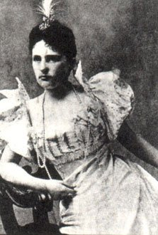"Theresa ""Tessie"" Fair Oelrichs (photo courtesy of the New York Social Diary)"