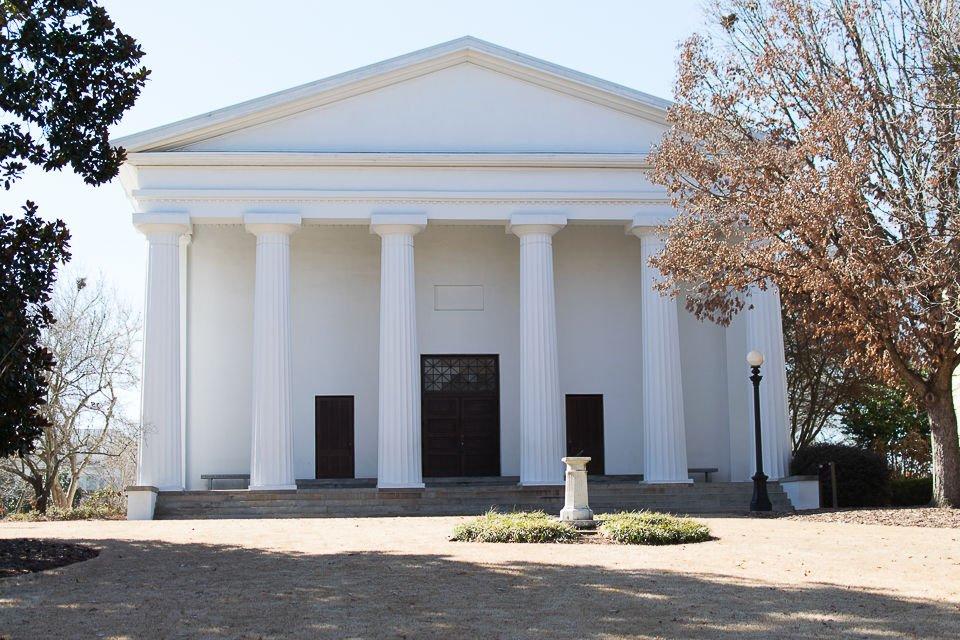 The University of Georgia Chapel (photo/Samantha Forbes) https://www.redandblack.com/uganews/photographer-maria-varela-scheduled-to-speak-at-uga-chapel/article_0e0fd456-2b39-11e8-9b0b-438c10a5ac00.html