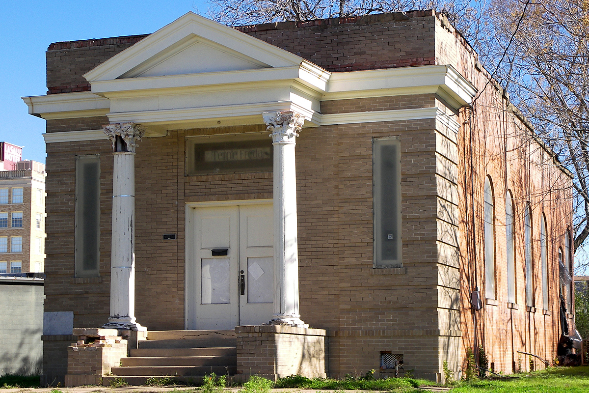Built in 1912, Temple Freda is the only synagogue in the country named after a woman.