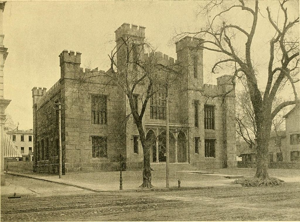 Wadsworth Atheneum depicted circa 1895.