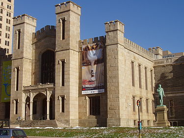 Wadsworth Atheneum Museum of Art, as it appears today.
